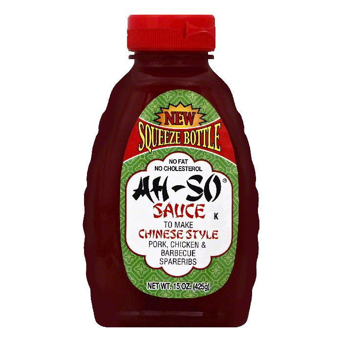 Ah So Barbecue Sauce, 15 OZ (Pack of 6)