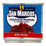 San Marcos in Adobo Sauce Chilpotle Peppers, 11 OZ (Pack of 12)