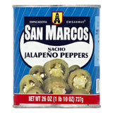 San Marcos Nacho Japapeno Peppers, 26 OZ (Pack of 12)