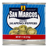 San Marcos Nacho Japapeno Peppers, 11 OZ (Pack of 12)