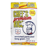 Chef's Premium Boiled Rice, 25 LB