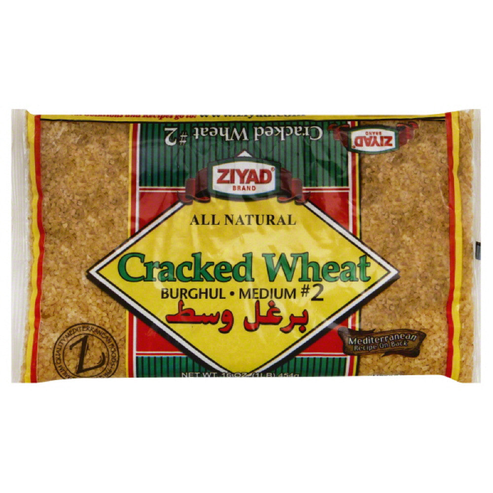 Ziyad Cracked Wheat Burghul Medium No. 2, 16 Oz (Pack of 6)