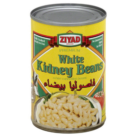 Ziyad White Kidney Beans, 15.5 Oz (Pack of 6)