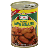 Ziyad Large Fava Beans, 15 Oz (Pack of 6)