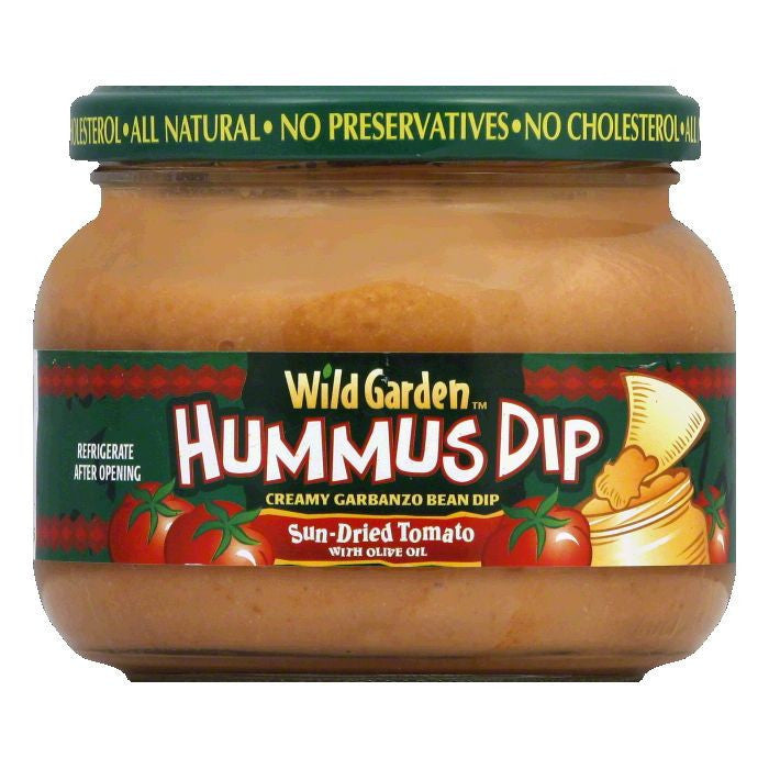 Wild Garden Sundried Tomato Hummus Dip, 13.4 OZ (Pack of 6)