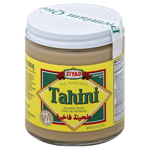 Ziyad Tahini, 8 Oz (Pack of 12)