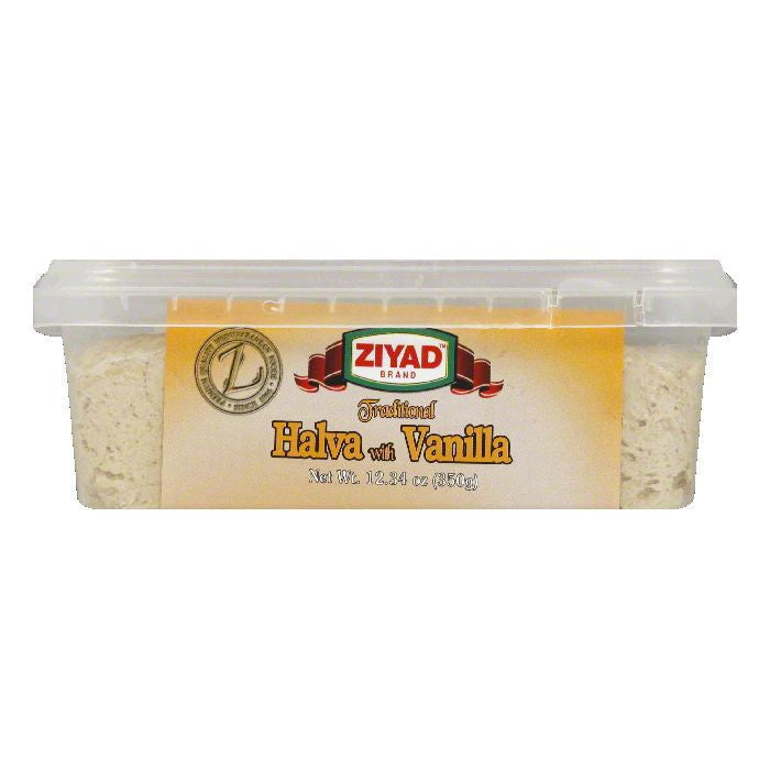 Ziyad Halva with Vanilla, 12.34 OZ (Pack of 6)
