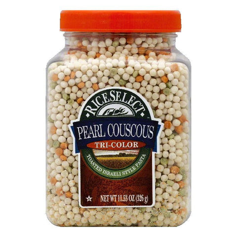 Rice Select Tri-Color Pearl Couscous, 11.53 OZ (Pack of 6)