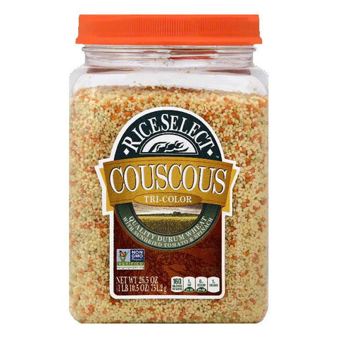 Rice Select Tri-Color Couscous, 26.5 OZ (Pack of 4)