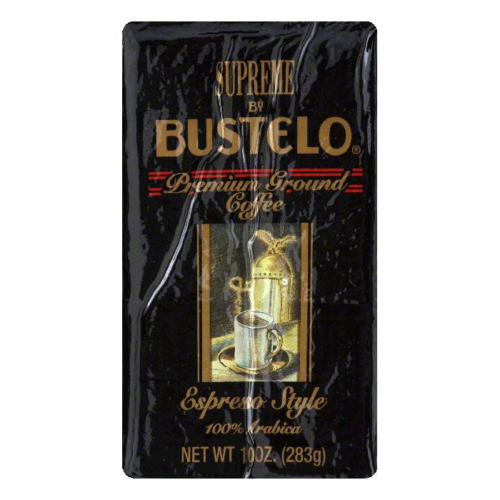 Cafe Bustelo Supreme Coffee Brick, 10 OZ (Pack of 12)