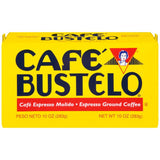 Cafe Bustelo Espresso Ground Coffee 10 Oz Brick (Pack of 12)