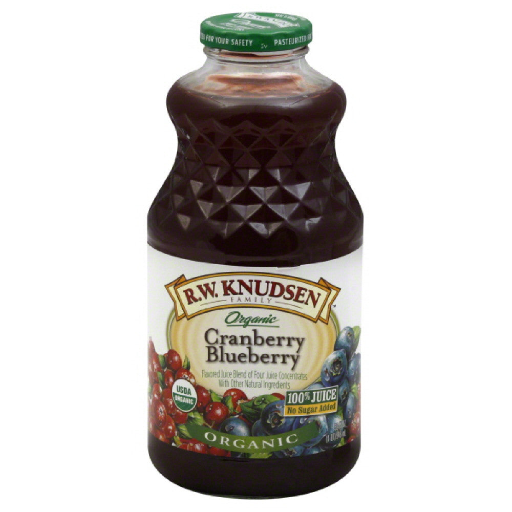 RW Knudsen Cranberry Blueberry Juice Blend, 32 Fo (Pack of 12)