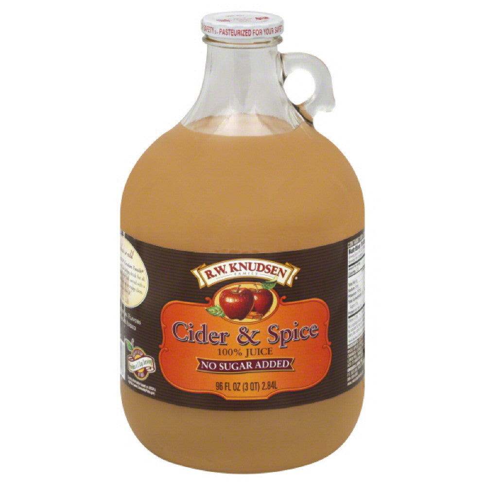 RW Knudsen Cider & Spice 100% Juice, 96 Fo (Pack of 6)