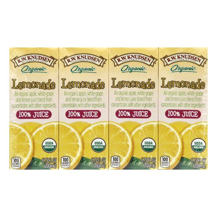 RW Knudsen Lemonade 100% Juice, 27 Oz (Pack of 7)
