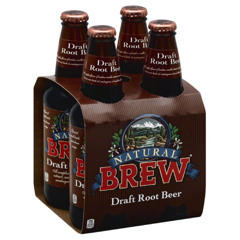 Natural Brew Draft Root Beer, 48 Fo (Pack of 6)