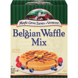 Maple Grove Farms of Vermont Belgian All Natural Waffle Mix 24 Oz  (Pack of 6)