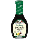 Maple Grove Farms Fat Free Balsamic Vinaigrette Dressing 8 Oz   (Pack of 6)