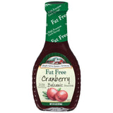 Maple Grove Farms Fat Free Cranberry Balsamic Dressing 8 Oz   (Pack of 6)