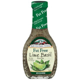 Maple Grove Farms Fat Free Lime Basil Dressing 8 Oz   (Pack of 6)