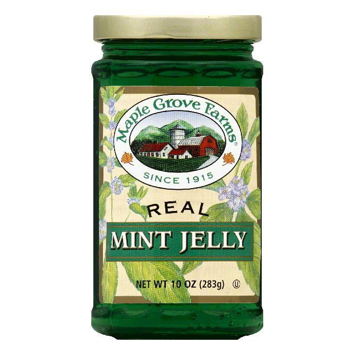 Maple Grove Farms Mint Jelly, 10 OZ (Pack of 6)