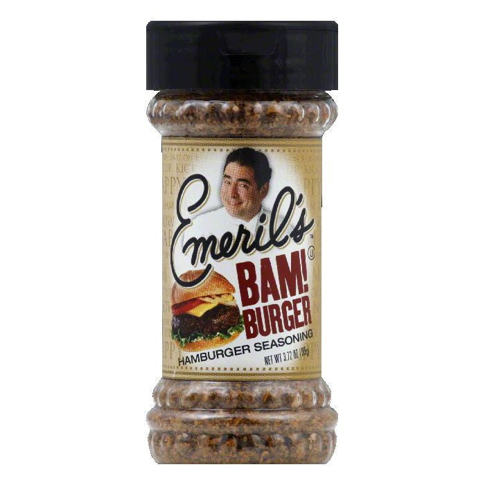 Emeril's Bam Seasoning Hamburger, 3.72 OZ (Pack of 6)