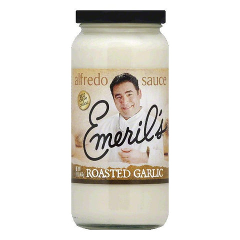 Emerils Roasted Garlic Alfredo Sauce, 16 Oz (Pack of 6)