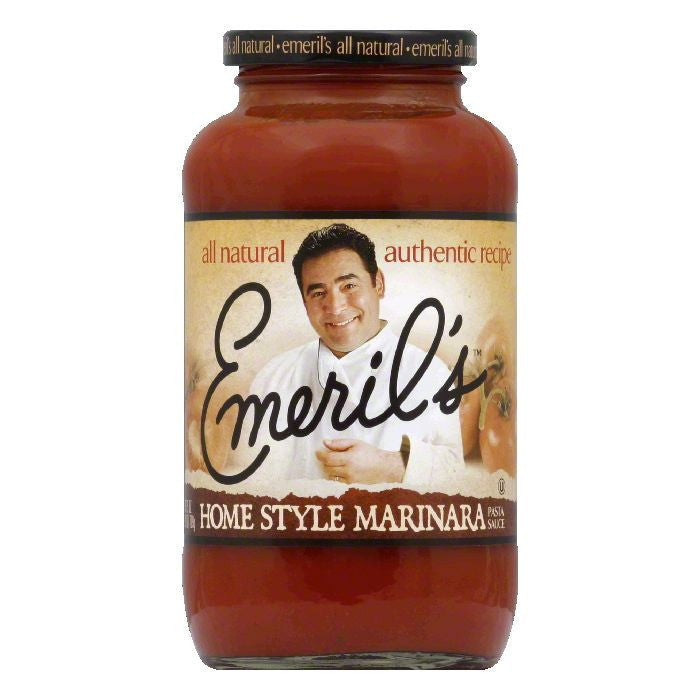 Emeril's Pasta Sauce Homestyle Marinara, 25 OZ (Pack of 6)