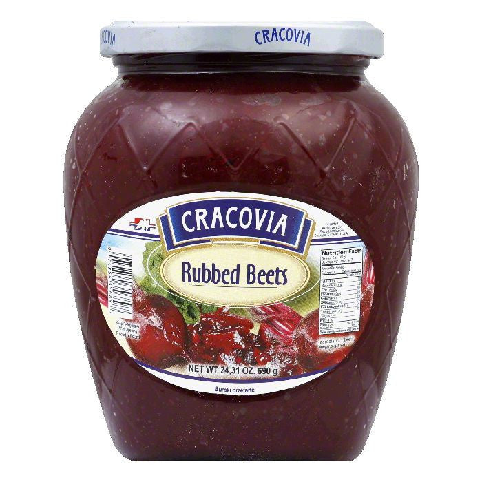 Cracovia Rubbed Beets, 24.3 OZ (Pack of 12)