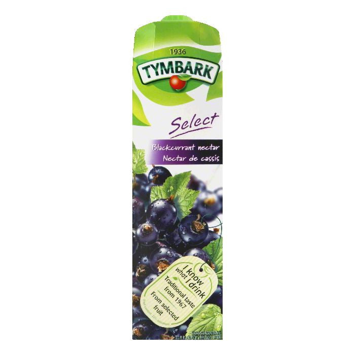 Tymbark Blackcurrant Nectar, 33.8 Oz (Pack of 12)