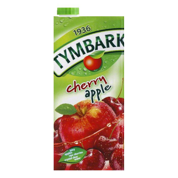 Tymbark Cherry Apple Drink, 33.8 Oz (Pack of 12)