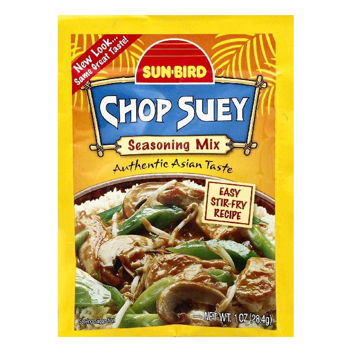 Sun Bird Chop Suey Seasoning Mix, 1 OZ (Pack of 24)