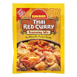 Sun Bird Thai Red Curry Seasoning Mix, 1 OZ (Pack of 24)