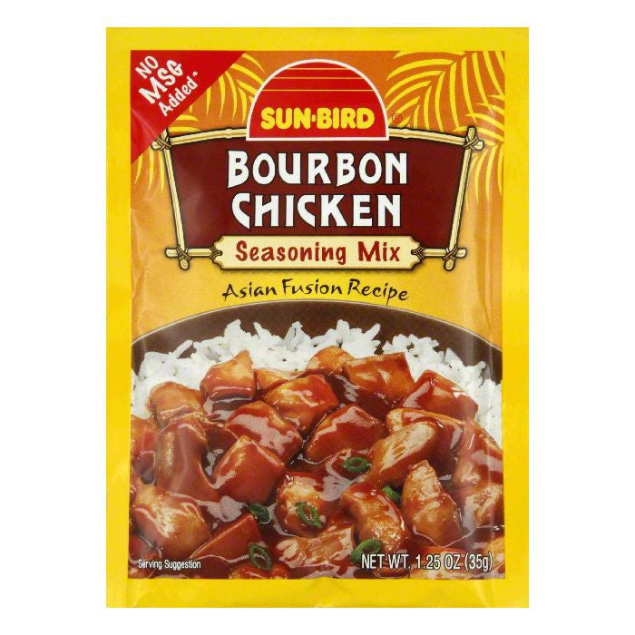 Sunbird Mix Chicken Bourbon, 1.25 OZ (Pack of 24)