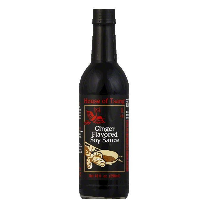 House of Tsang Soy Sauce Ginger, 10 OZ (Pack of 6)