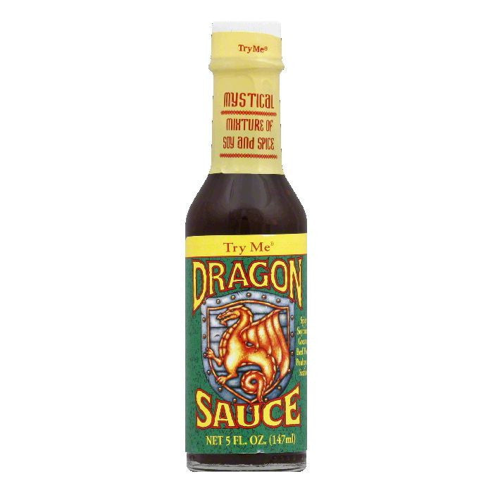 Try Me Dragon Sauce, 5 OZ (Pack of 6)