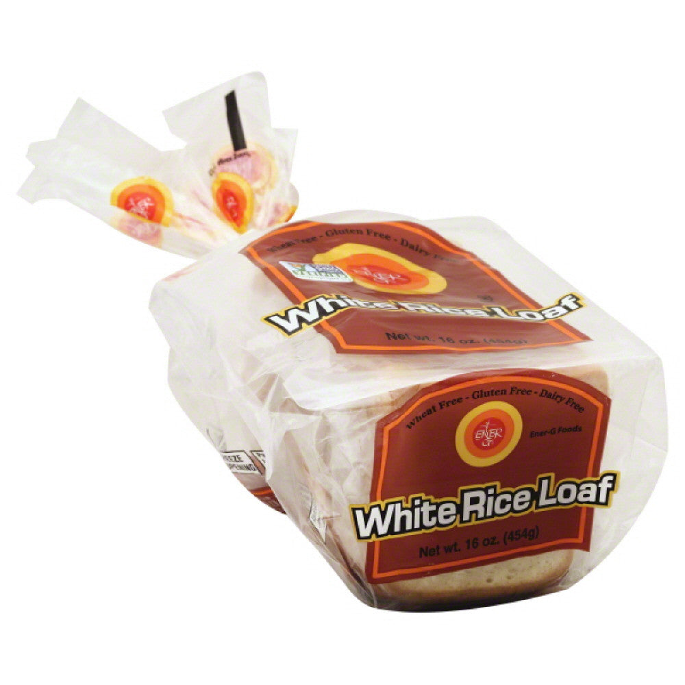 EnerG Bread White Rice Loaf, 16 Oz (Pack of 6)