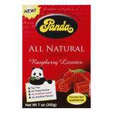 Panda Raspberry Chew, 7 OZ (Pack of 12)