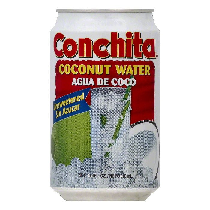 Conchita Unsweetened Coconut Water, 10.4 OZ (Pack of 24)