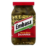 Embasa Nacho Sliced Jalapenos, 11 OZ (Pack of 12)