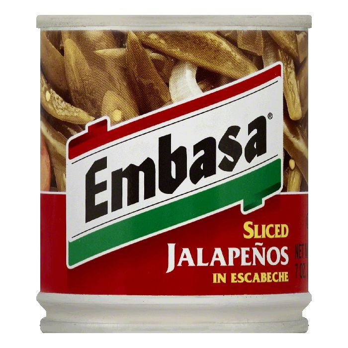 Embasa in Escabeche Sliced Jalapenos, 7 OZ (Pack of 12)