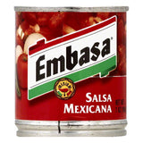 Embasa Medium Mexicana Salsa, 7 OZ (Pack of 12)