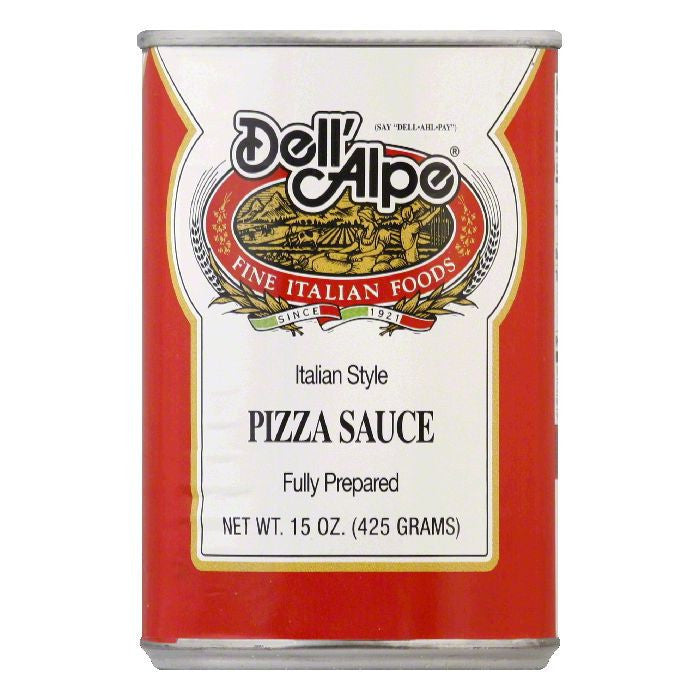 Dell' Alpe Pizza Sauce, 15 OZ (Pack of 12)