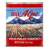 Dell Alpe Peeled Naples Tomatoes, 28 OZ (Pack of 12)