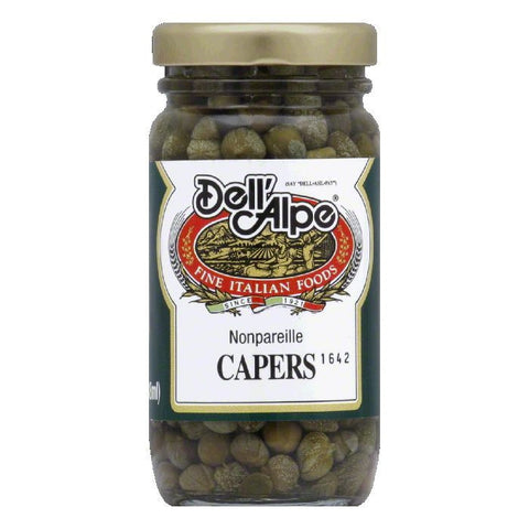 Dell' Alpe Nonpariel Capers, 3 OZ (Pack of 12)