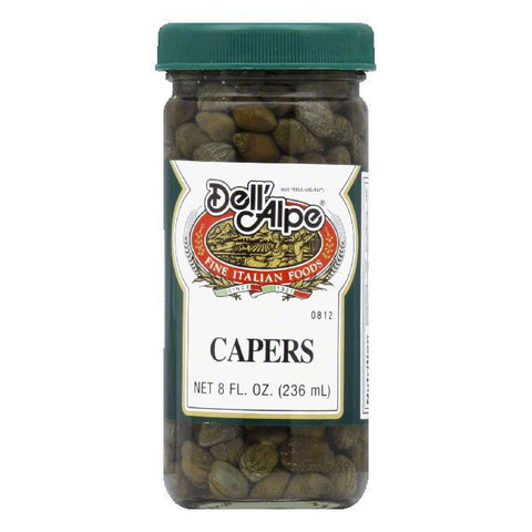 Dell' Alpe Capers In Vinegar, 8 OZ (Pack of 12)