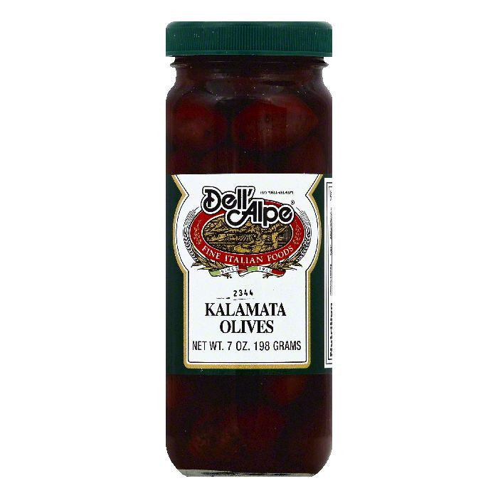 Dell Alpe Kalamata Olives, 7 OZ (Pack of 12)