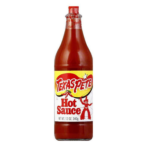 Texas Pete Hot Sauce, 12 OZ (Pack of 6)