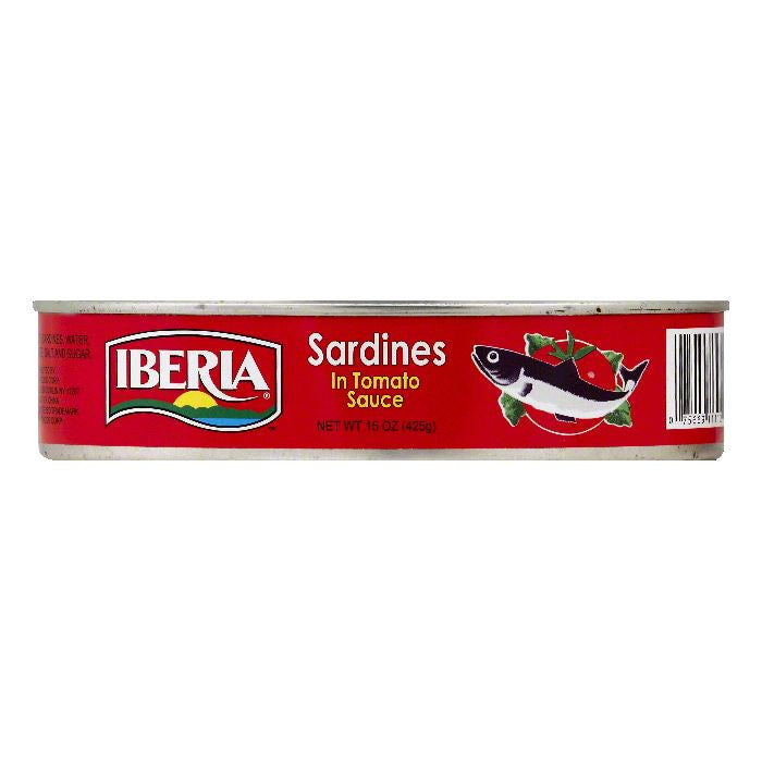 Iberia in Tomato Sauce Sardines, 15 OZ (Pack of 24)