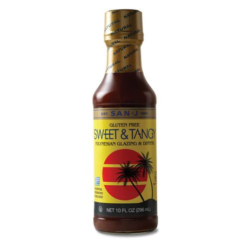 San J Sweet & Tangy Sauce, 10 OZ (Pack of 6)