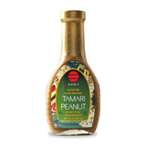 San J Tamari Peanut Asian Dressing, 8 OZ (Pack of 6)